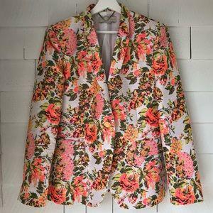 STELLA McCARTNEY. Floral Brocade Blazer.